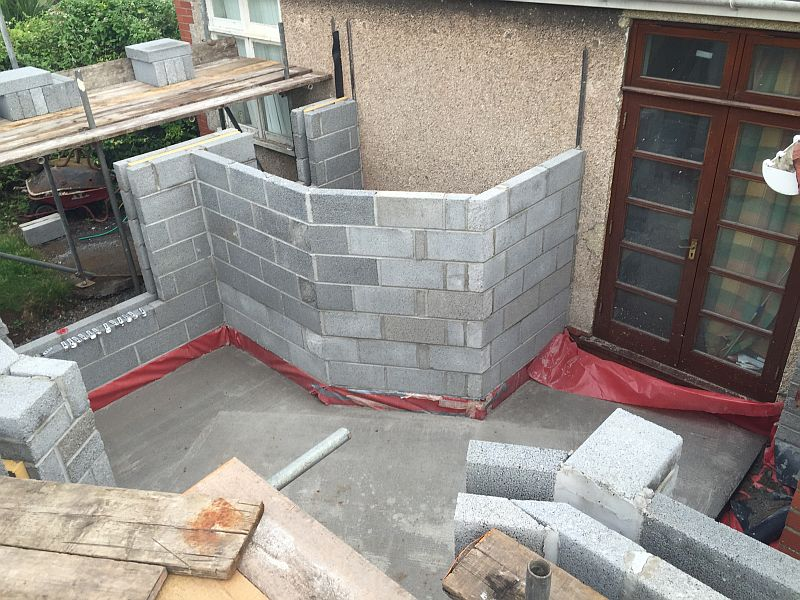 Extension Brick Blockwork